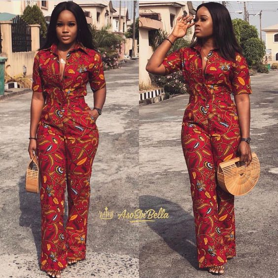 acb3fa13cc24 THESE ANKARA JUMPSUIT STYLES ARE SO SO ON POINT