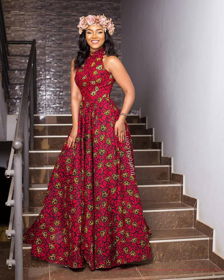 5ac2606b6553 THESE LATEST ANKARA LONG GOWN STYLES WILL INSPIRE YOU!