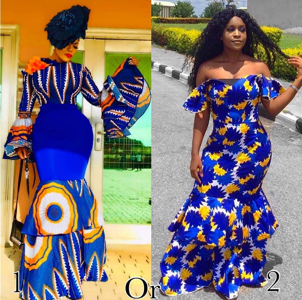 LOVELY ANKARA GOWN STYLES FOR FASHIONISTA LADIES